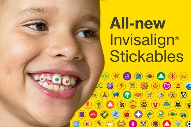 invisalign stickables